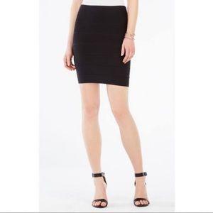 BCBG black bandage skirt